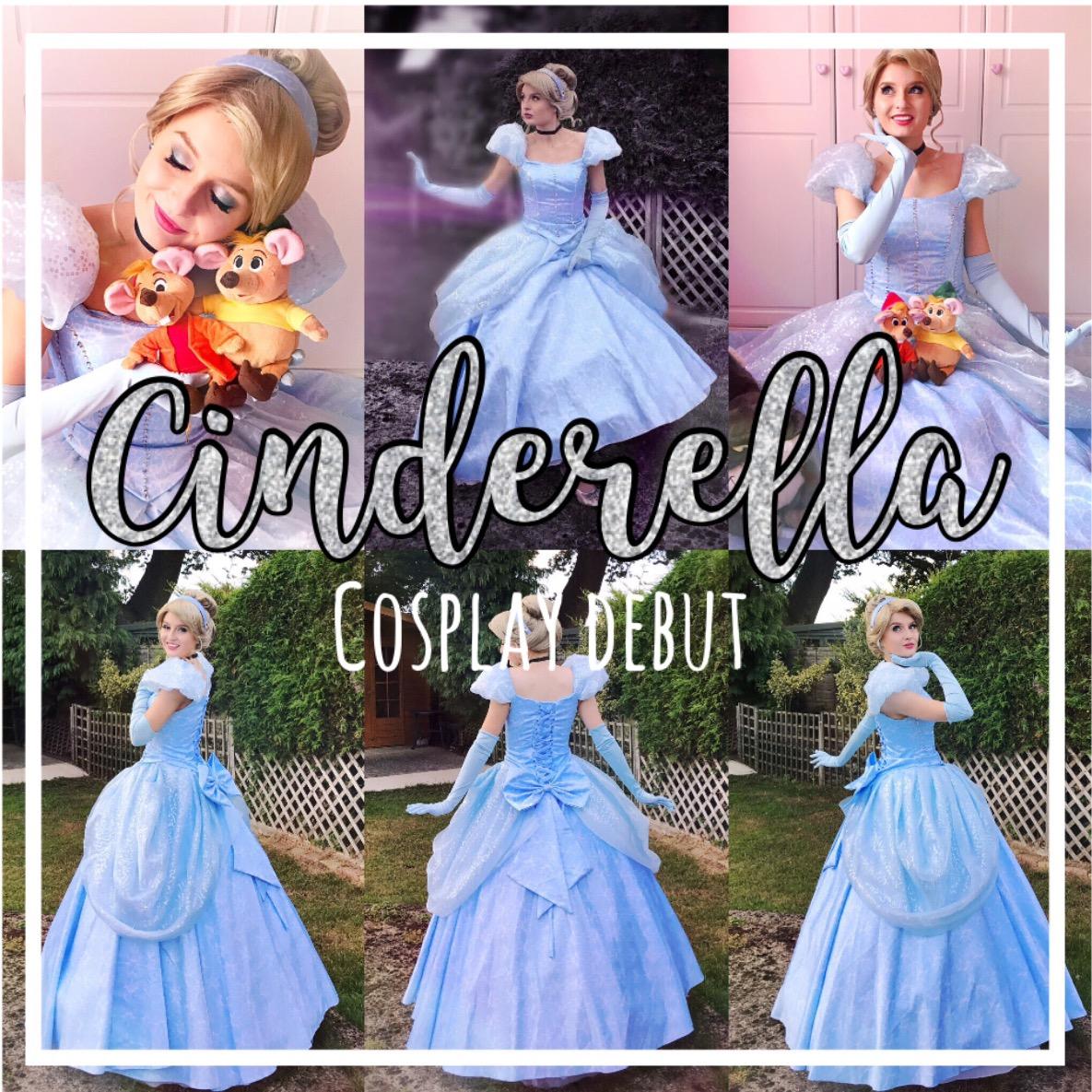 Cinderella Cosplay Debut